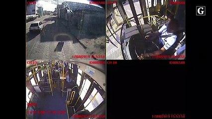 Assalto a ônibus em Linhares