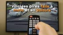 Voici les pires fails à moto et en voiture !
