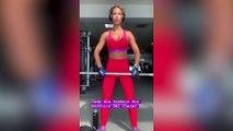 Tamara Gorro cuenta en Instagram su rutina deportista