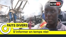Incendie du marché Liberté 6 ce mardi; huit cantines parties en fumée