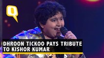 Dhroon Tickoo Gives Kishore Kumar a Tribute