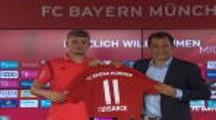 Bundesliga: Bayern - Cuisance présenté à la presse !