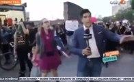 Un journaliste mexicain mis KO pendant une manifestation féministe !