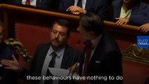 Crisi governo, Salvini ritira mozione di sfiducia al governo