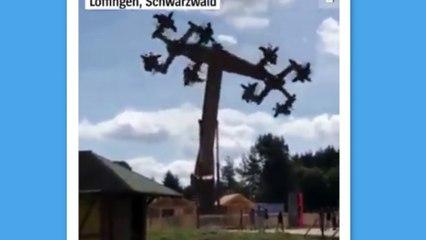 Allemagne : un manège fermé car ses bras articulés formaient des croix gammées