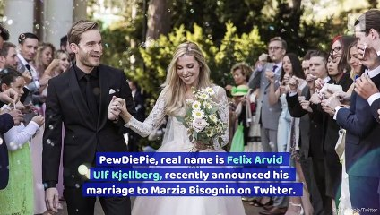 PewDiePie Is Officially a Married Man