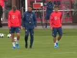 Bayern - Premier entraînement pour Cuisance et Coutinho
