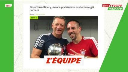 Ribéry proche de la Fiorentina, visite médicale mercredi - Foot - Transferts