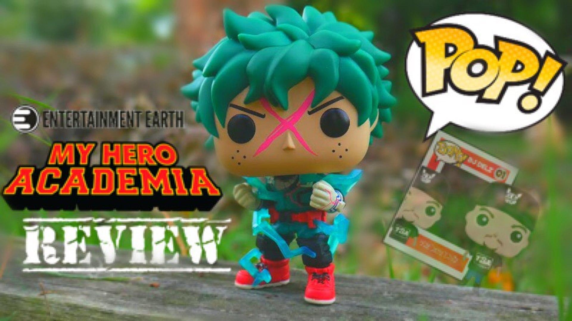 Deku Full Cowl Enamel Pin GLOW DARK EE Exclusive My Hero Academia Funko Pop