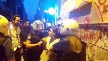 İstanbul'da kayyım eylemine polis müdahalesi; çok sayıda gözaltı var