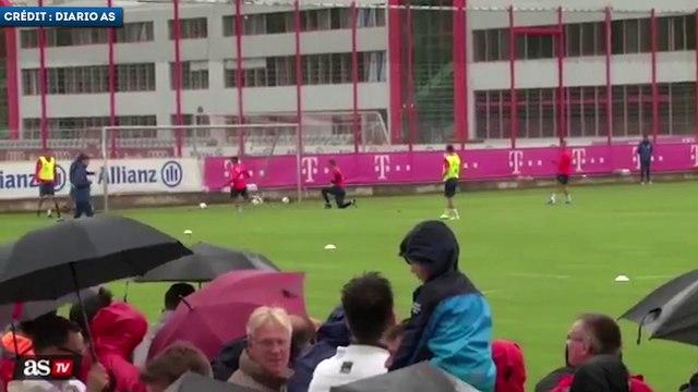 Philippe Coutinho régale déjà pour son premier entraînement avec le Bayern