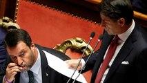 Salvini kisses rosary after Conte criticism over religious symbols