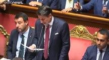 Crisi di governo: botte e risposte al Senato