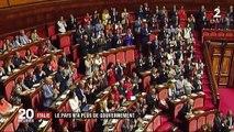 Crise politique en Italie : le Premier ministre Giuseppe Conte a annoncé sa démission