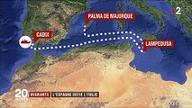 Migrants : l'Espagne défie l'Italie