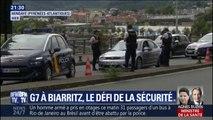 G7: près de Biarritz, les forces de l'ordre ont déjà installé des barrages filtrants
