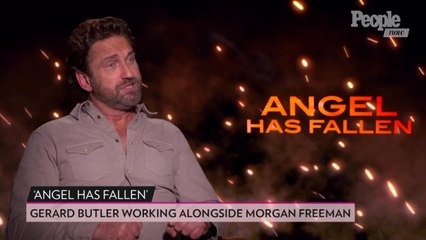 Gerard Butler Put Morgan Freeman 'Through Hell' for Angel Has Fallen: 'He Handled It Admirably'