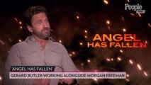 Gerard Butler Put Morgan Freeman 'Through Hell' for Angel Has Fallen: 'He Handled It Admirably'