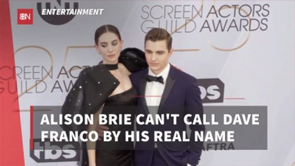 The Relationship Between Dave Franco And Alison Brie