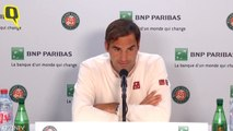 Roger Federer on Losing to Rafael Nadal in French Open Semis
