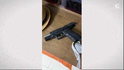 Arma apreendida durante operação do Nuroc