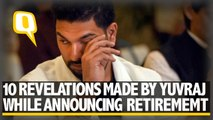 10 Revelations Made by Yuvraj Singh in Retirement Announcement
