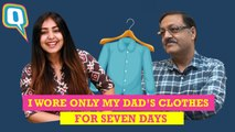I Wore Only My Dad's Clothes For Seven Days