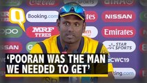 Pooran Was The Man We Needed to Get: Sri Lankan bowler Angelo Mathews on Win Over WI