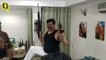 Suspended BJP MLA Pranav Singh Brandishes Guns While Dancing