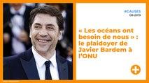 « Les océans ont besoin de nous » : le plaidoyer de Javier Bardem à l'ONU