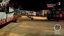 """Italie : les migrants de l'""""Open Arms"""" ont débarqué à Lampedusa"""