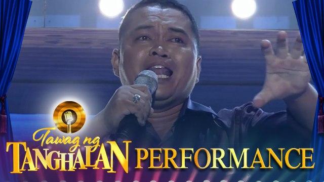Joel Namocatcat   My Love Will See You Through   Tawag ng Tanghalan