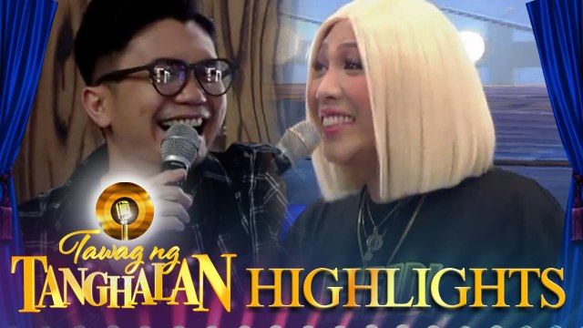 Vhong hides himself from Vice | Tawag ng Tanghalan