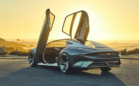 VÍDEO: Bentley EXP 100 GT Concept, ¡menuda escultura sobre ruedas!