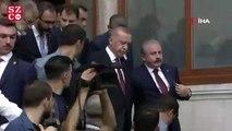 Cumhurbaşkanı Erdoğan, eski Başbakanı Davutoğlu'nu teğet geçti