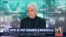 Le sourire dans la voix, Bernard Tapie annonce se faire soigner à Marseille grâce à une technologie unique