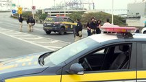 Witzel comemora ação da Polícia