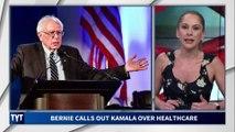 Kamala Harris STUNNED By Bernie Sanders