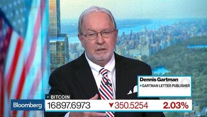 Dennis Gartman Sees Sign of a Top for Bitcoin