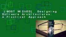 [MOST WISHED]  Designing Software Architectures: A Practical Approach