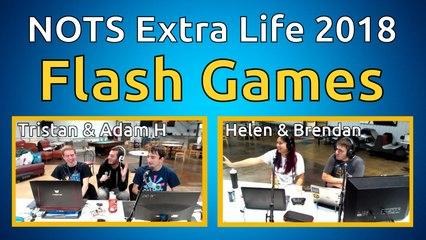 Flash Games - NOTS Extra Life 2018