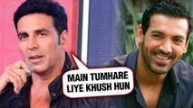 Akshay Kumar's SWEET Message For John Abraham | Batla House | Mission Mangal