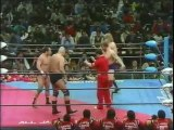 Harley Race/Klaus Wallas vs Killer Khan/Masanobu Kurisu (All Japan Special March 9th, 1985)