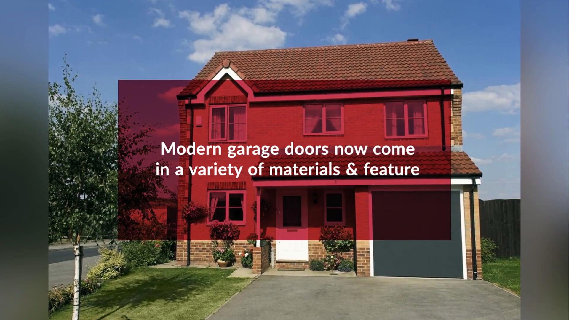 Why Repair and Maintenance of Garage Doors Boosts Home Security and Visual Appeal – Garage Door Repair Canada