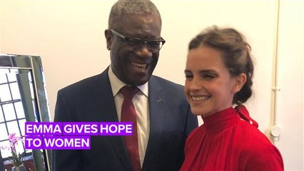 Listen to Emma Watson give two minutes of hope