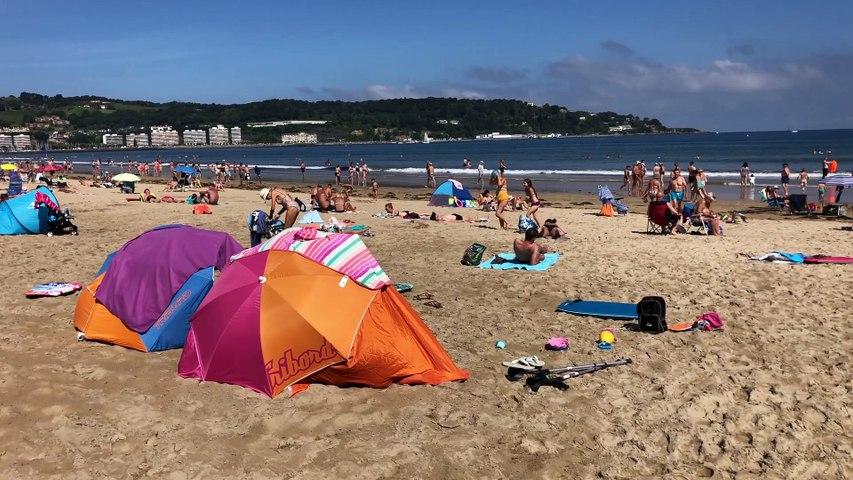 HENDAYE  |   C'est le mois d'Aout - Euskadi Surf TV