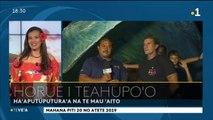 TH : Cérémonie d'ouverture de la 20e Tahiti surf pro