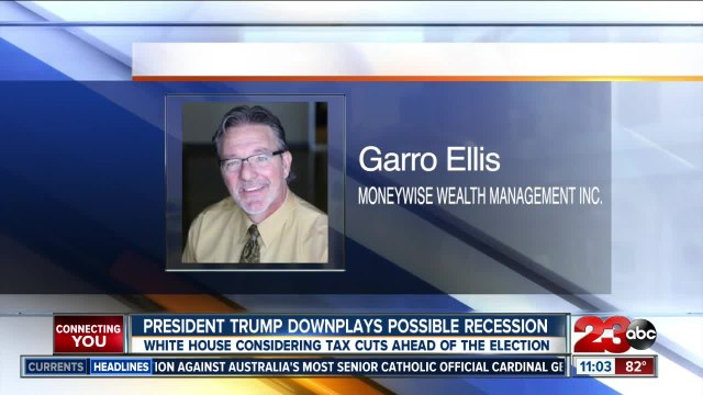 Trump downplays possible recession