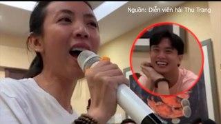 Quốc Trường thích thú trước giọng hát Thu Trang - Tiến Luật