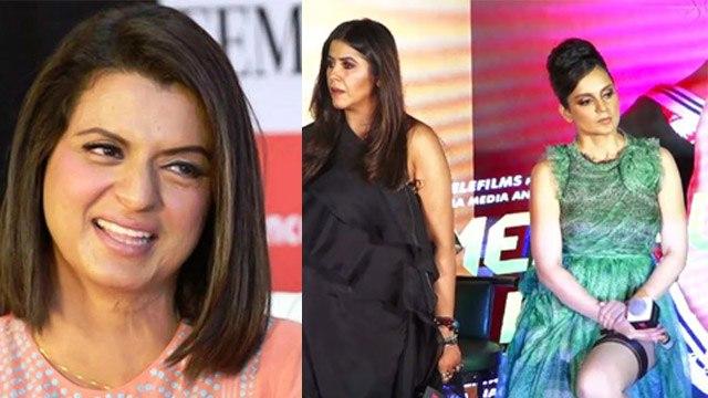 Kangana Ranaut's sister Rangoli REACTS on Ekta Kapoor & Kangana fight rumours   FilmiBeat